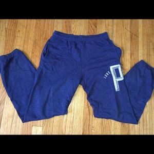 VICTORIAS SECRET PINK - Purple/Blue - JOGGERS - XS
